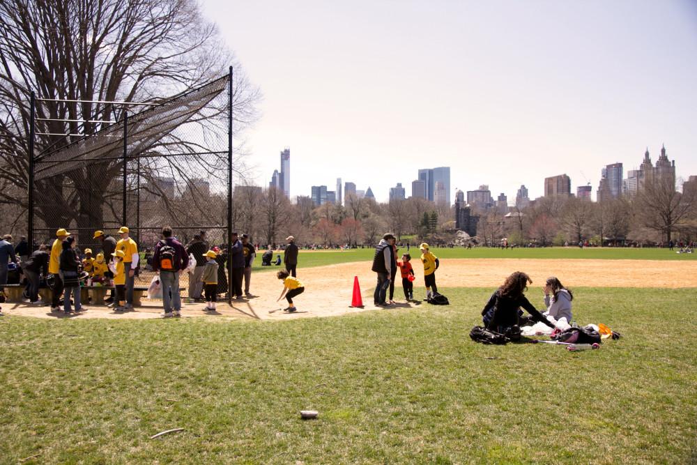 Baseball, Central Park, New York, Kids League, sunday, Sonntag, Reise, Reiseblog