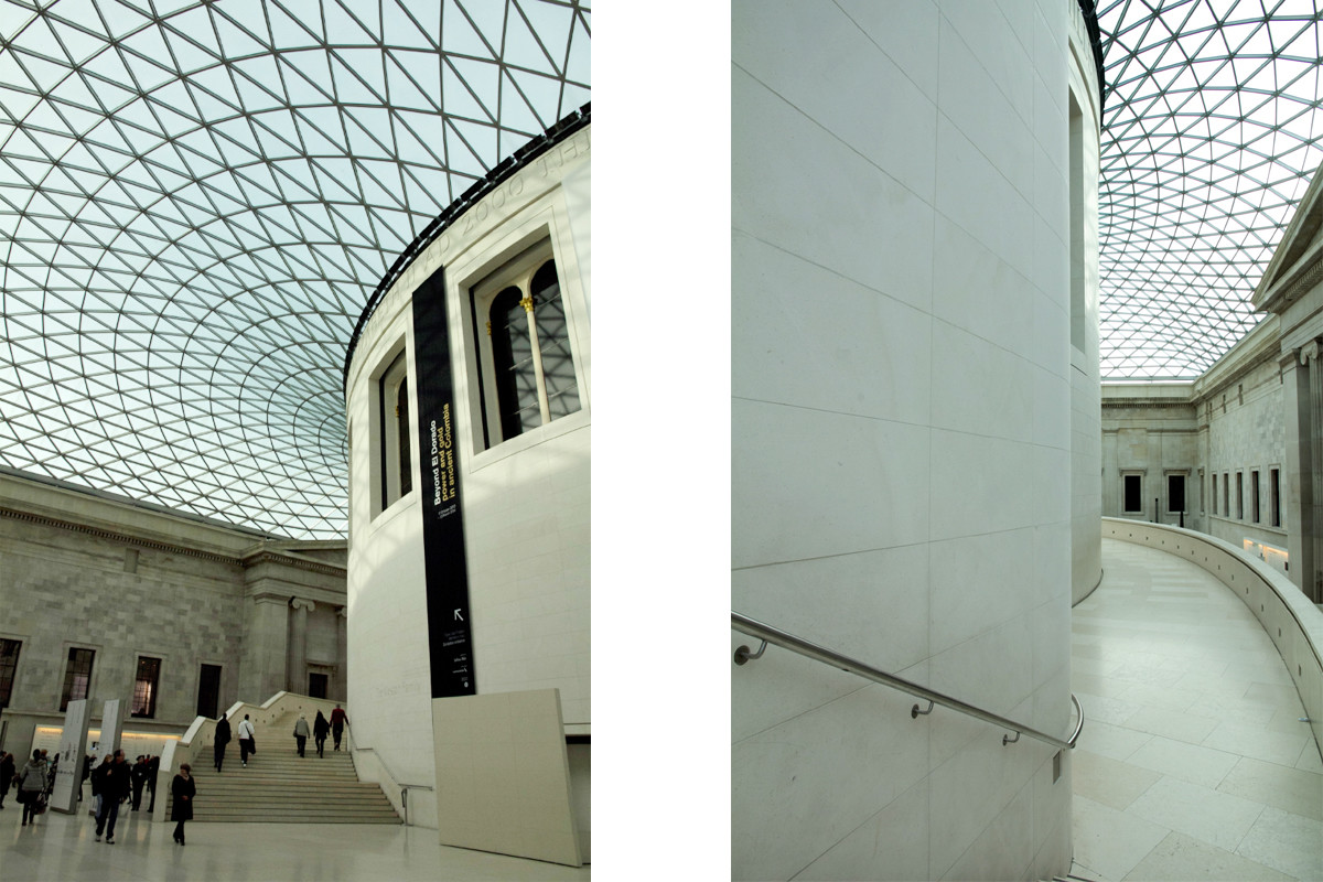 British Museum, Museum, London, Innenhof, Must See, Reisen, Blogger, Reiseblog, travelblog