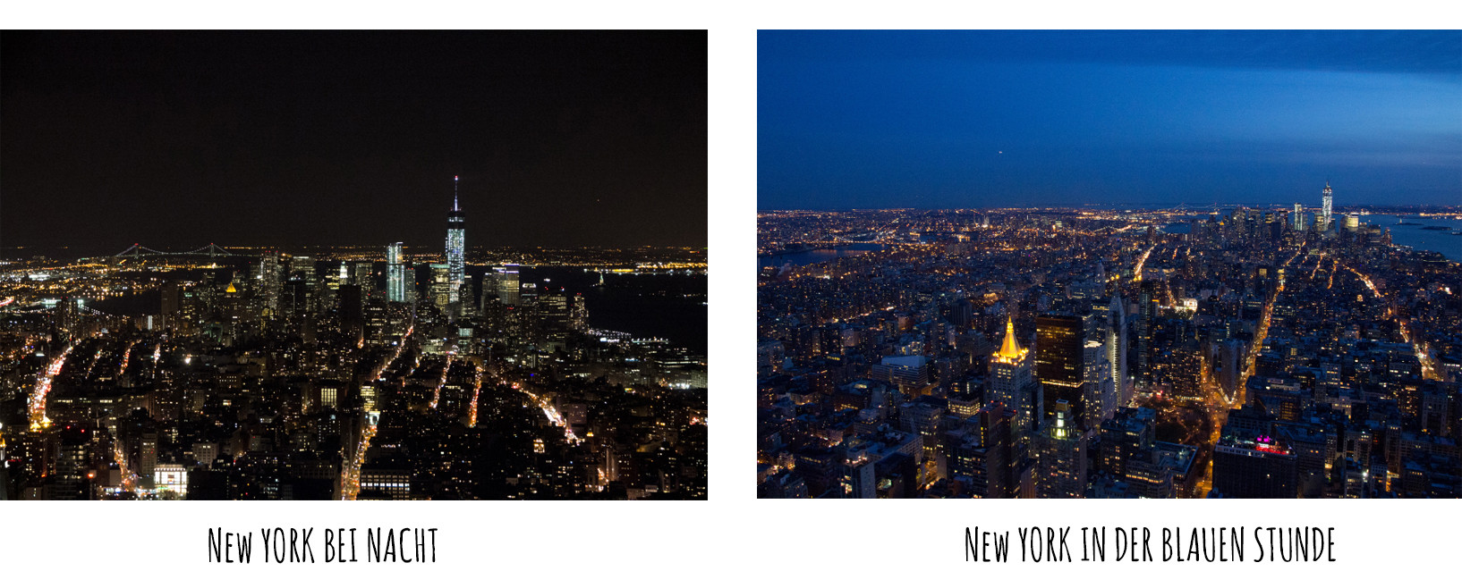 empire state building, view, ny city, blaue stunde, von oben, reiseblog, städtetrip, tips