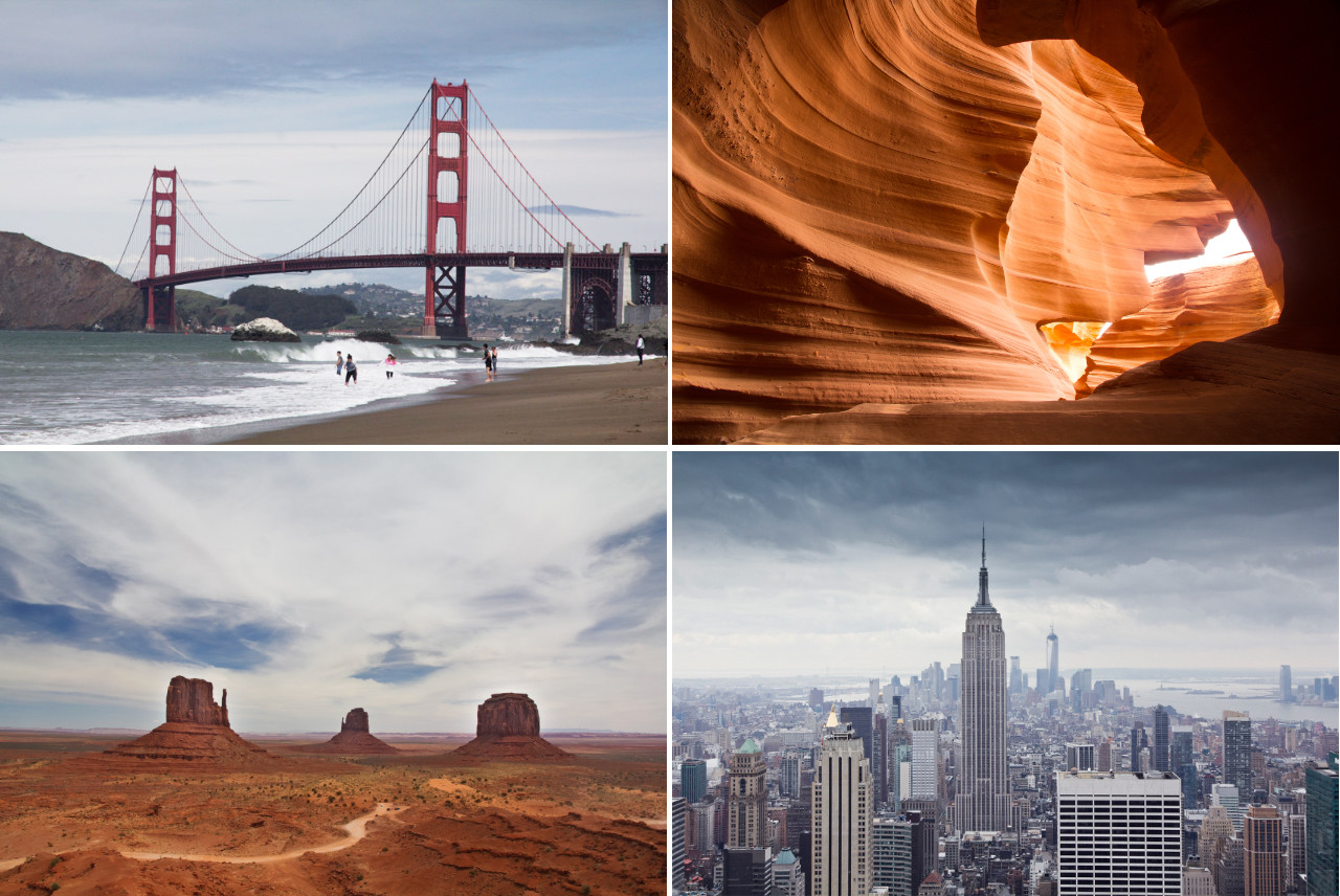 roadtrip, USA, Westküste, west coast, blog, Reiseblog, Monument Valley, New York, San Francisco, Golden Gate Bridge, Empire State Building, Antelope Canyon, Arizona