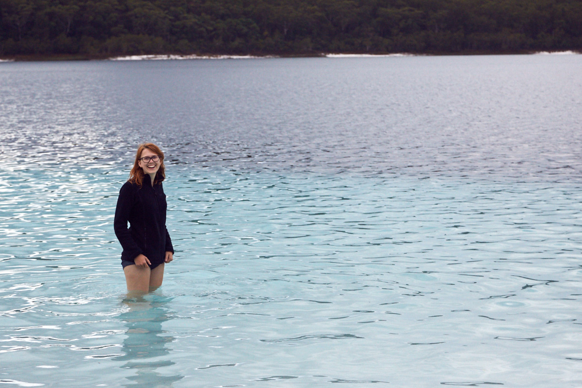 Lake McKenzie, Fraser Island, Regenwasser, See, Süßwasser, Regenwasser, Reisen, Reiseblog, reisen, travelblog, Lake, clear, crystal clear, kristallklar, UNIQUE, Tagestour