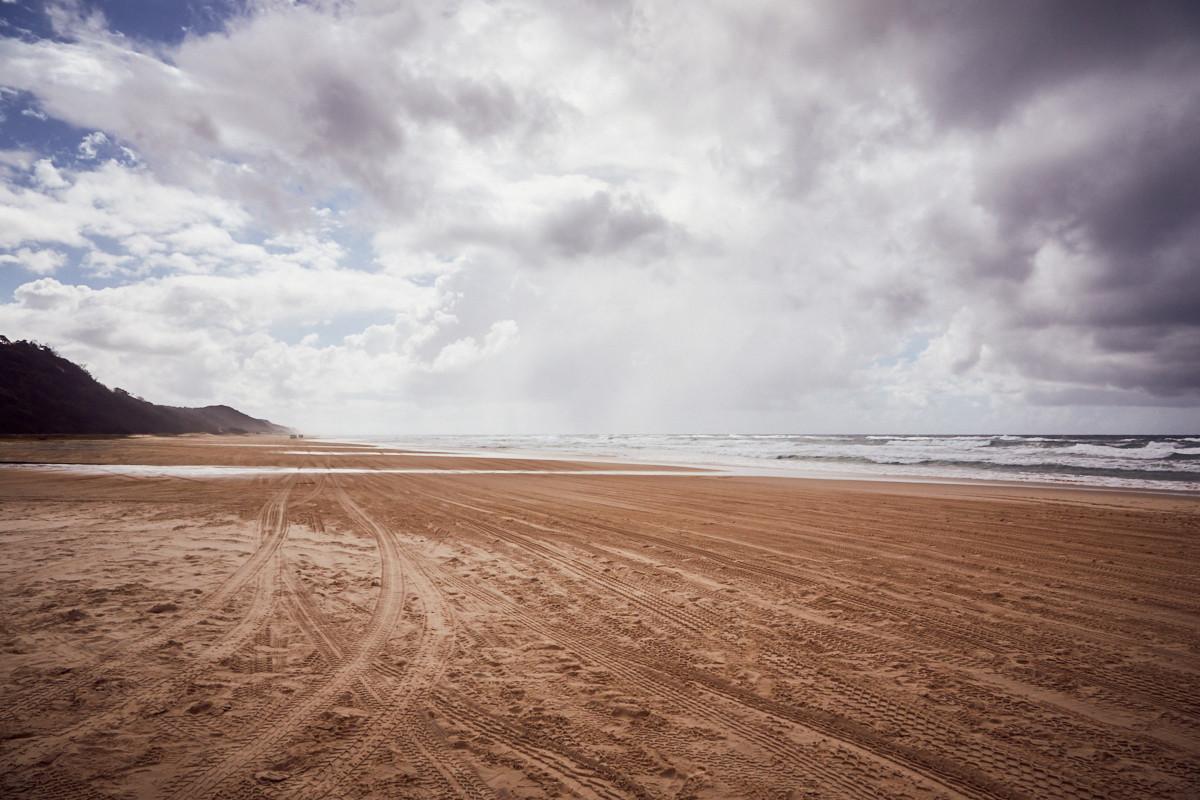 Fraser Island, Highway, Autobahn, Strasse, beach, Strand, Meer, Küste, Tagesausflug, daytour, UNIQUE