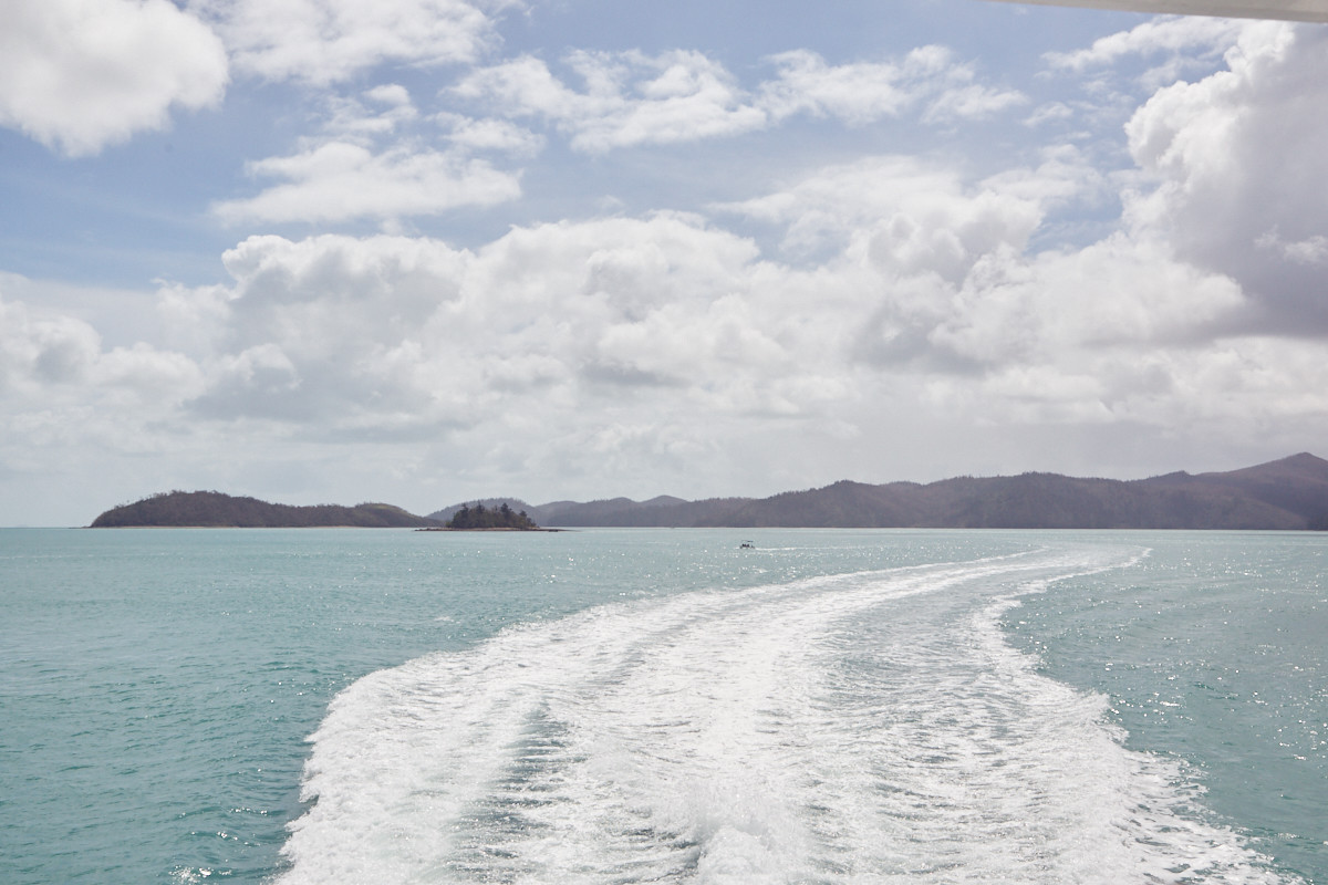 türkieses Meer Whitsunday Islands