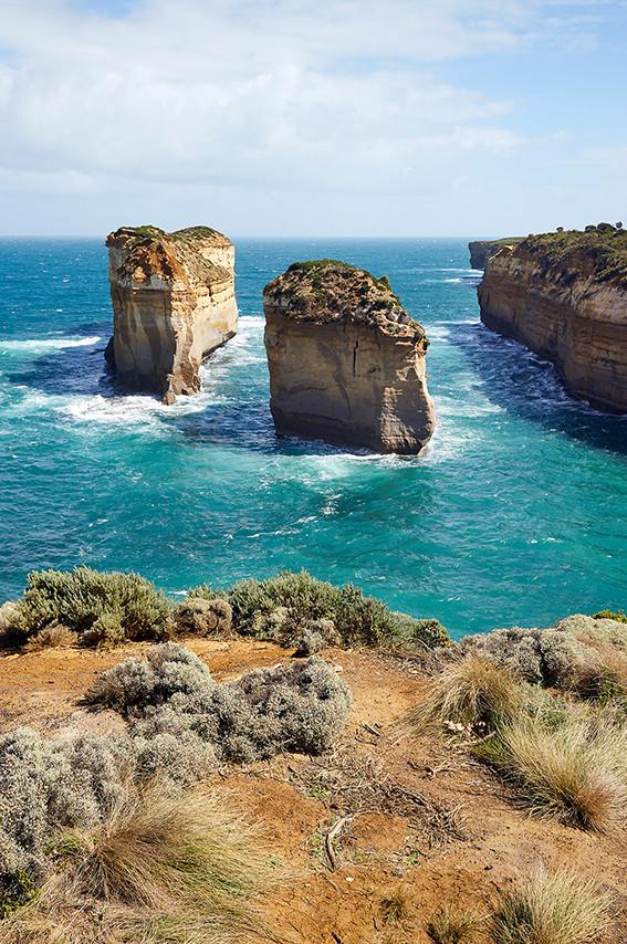 australien, roadtrip, australia, reiseblog, travelblog, miles and shores, milesandshores, travelblogger, ,great ocean road, steinformation, rocks, viewpoint